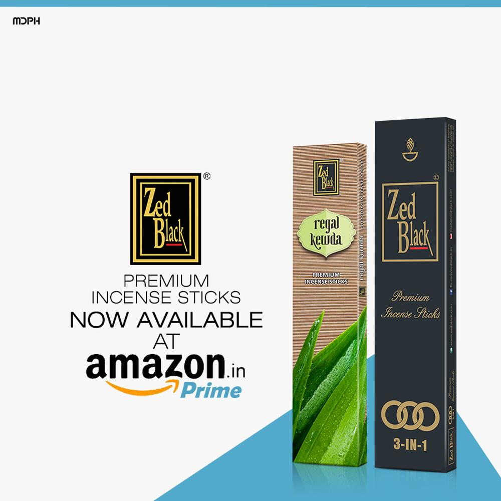 Zedblack at Amazon Prime