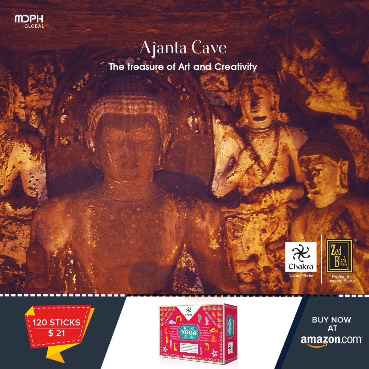 Ajanta Caves – The treasure of Art and Creativity