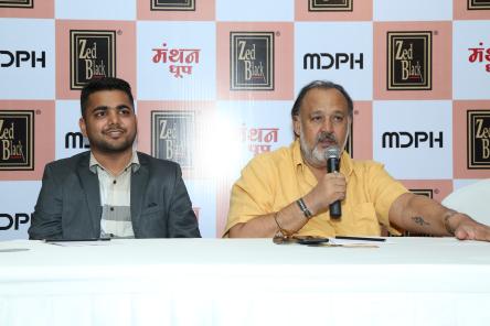 Manthan Dhoop prefaced Alok Nath as Brand Ambassador.
