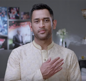 Making of zedblack's tvc, featuring MS Dhoni.
