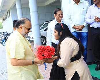 Alok Nath Ji Visits MDPH Campus