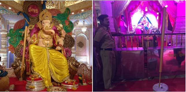 ZedBlack donated 6-foot-tall incense stick to Fort Ganeshotsav & Siddhivinayak Temple.