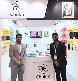 Chakra Exhibits at IHFG at Expo Mart, Greater Noida