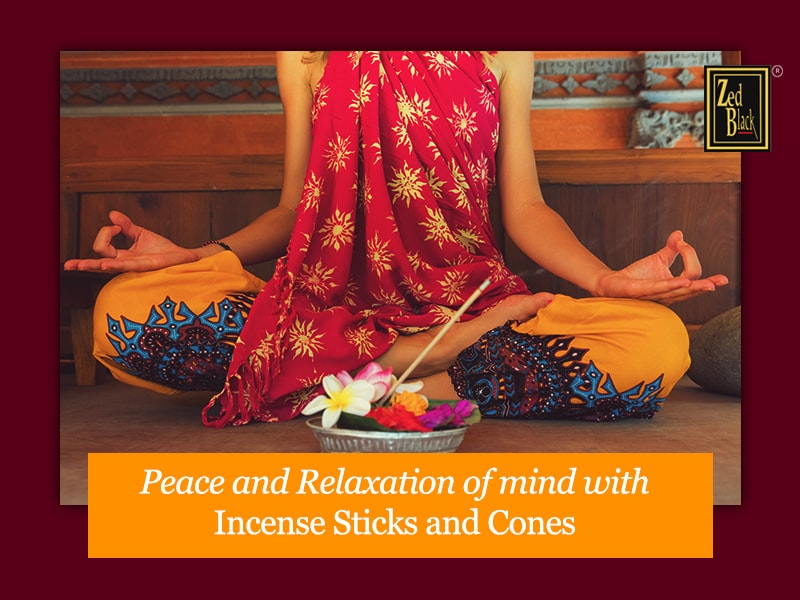 Two Sources of Peace and Relaxation: Incense Sticks and Incense Cones