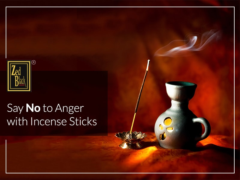 Say No to Anger with Incense Sticks
