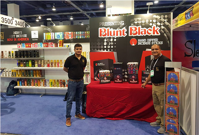 Zed Black showcases 'Blunt Black'  for the first time in ASD Fair, Las Vegas 29th july to 1st august