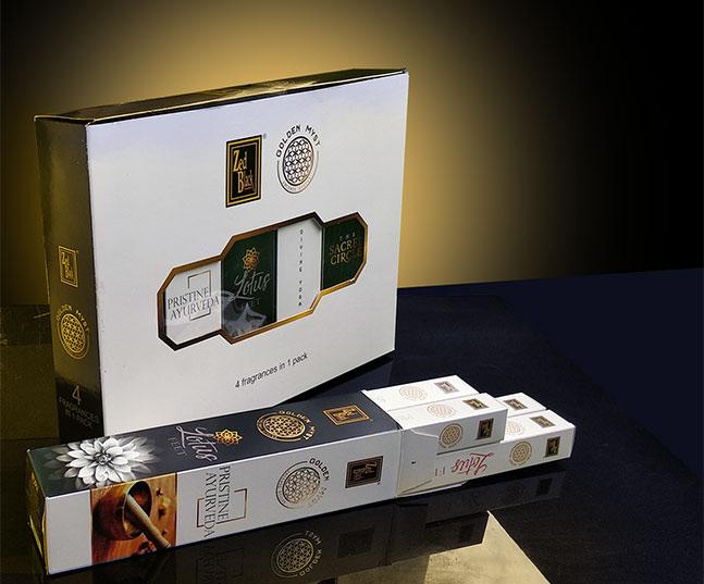 Launching historic fragrances – Golden Myst