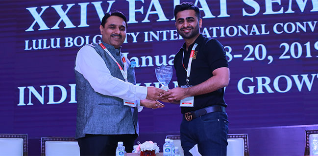 Ankit Agrawal, Director MDPH invited to speak at 24th FAFAI.